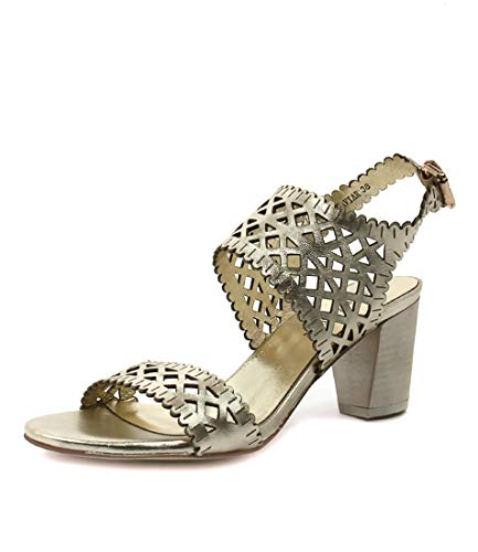 JULIETTE Heels Caviar DJANGO amp; GOLD Womens LEATHER Womens Shoes PALE wCqCBa