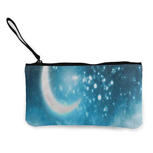 Canvas Coin Purse Galaxy...