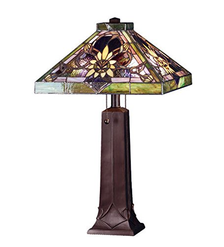 Solstice Feeder (Tiffany Style Stained Glass Solstice Table Lamp)