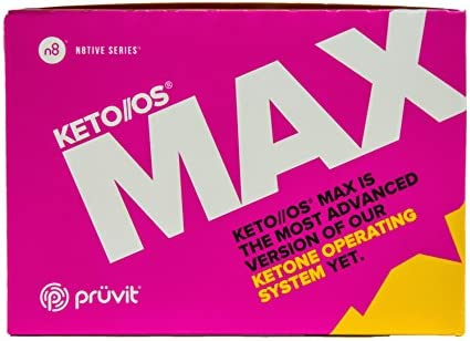 KETO//OS MAX Raspberry Lemonade CHARGED N8tive Series, BHB Beta Hydroxybutyrates Exogenous Ketones Supplements for Fat Loss, Workout Energy Boost and Weight Management through Fast Ketosis, 20 Sachets 3