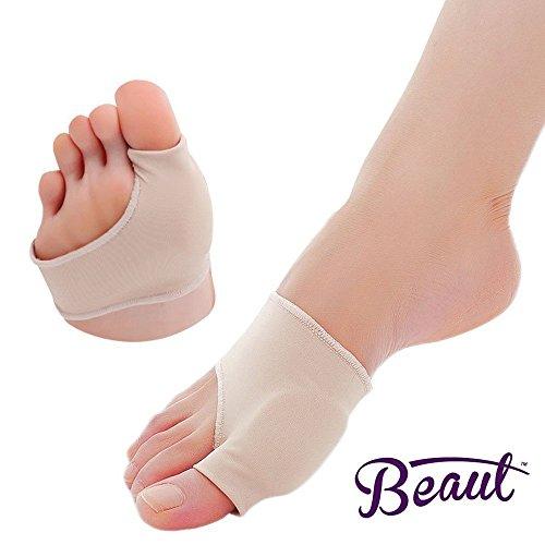 Bunion Corrector - Bunion Toe Straightener and Bunion Relief Detox Sleeve Bunion Pad with EuroNatural Gel - Orthopedic Bunion Corrector and Metatarsal Pad for Hammertoe and Hallux Valgus (Small) Photo #2