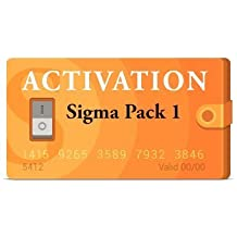 Pack 1 activation code for Sigma