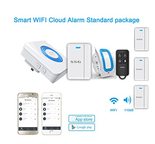 SSG Smart Home Security Alarm System Wifi Cloud system