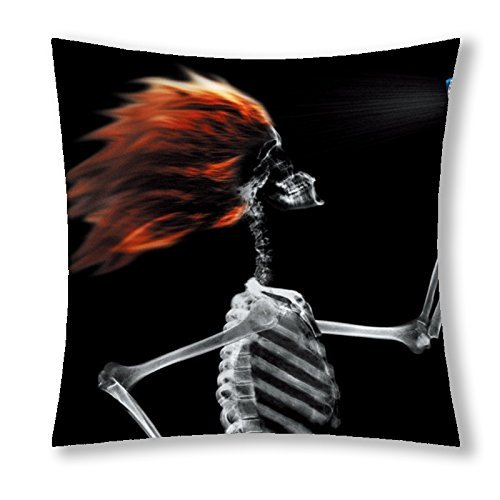 Sofa/Throw Pillow Cases Cushion Case Cover with of the Dead Sugar Skull Theme 18