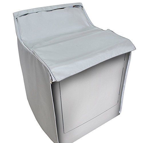 KaBaMen Washer/Dryer Cover Made of Silver Coated Polyester Fabrics Waterproof splash and anti sunlight irradiation