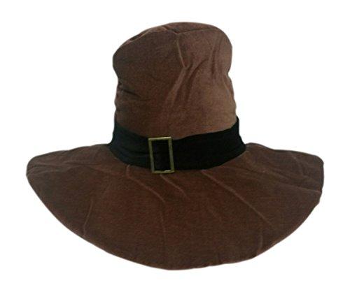 BZANY Thanksgiving Plush Pilgrim Hat