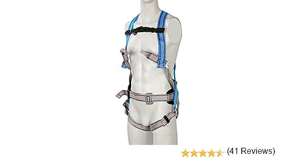 Silverline 251483 - Arnés anticaída y cinturón de sujeción (4 ...