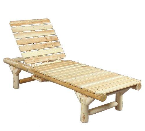 Cedarlooks 0100017 Log Lounge Chaise (Cedar Log Pool)