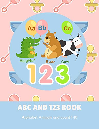 ABC AND 123 BOOK: Fun to learn and easy to follow por miss su messy