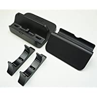 Genuine Nintendo Wii U Black Cradle & Stand Set Gamepad Charger Dock