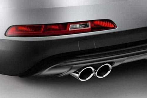 Audi Q3 8U Originale Sport Terminali Scarico Dal Tubo Cappa