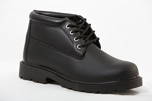 Mike's Black Padded Collar Chukka Boots – Size 9 by Mike's (Image #1)