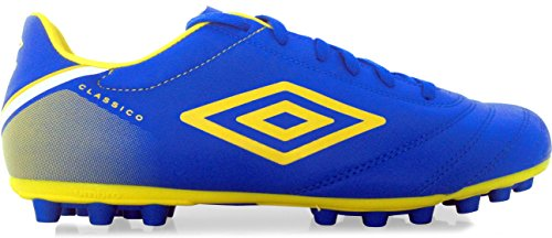 Bota Umbro Classico V AG, Color Azul Royal / Amarillo
