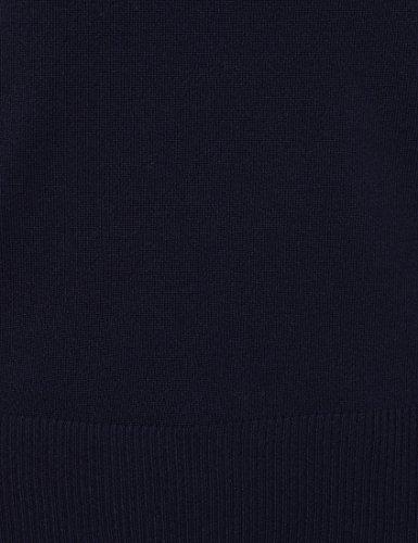 berydale BD241, Jersey con Cuello Cisne para Mujer, Azul Marino Azul (Marino)
