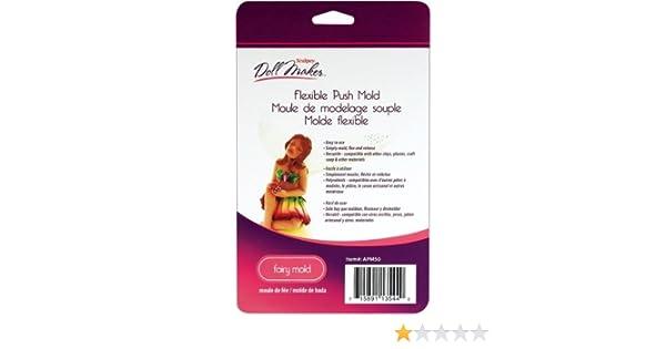 Amazon.com: Bulk Buy: Polyform Sculpey III Doll Maker Flexible Push Mold-Fairy (2-Pack): Home & Kitchen