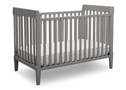 Serta Mid Century Modern Classic 5-in-1 Convertible Baby Crib, Grey Review