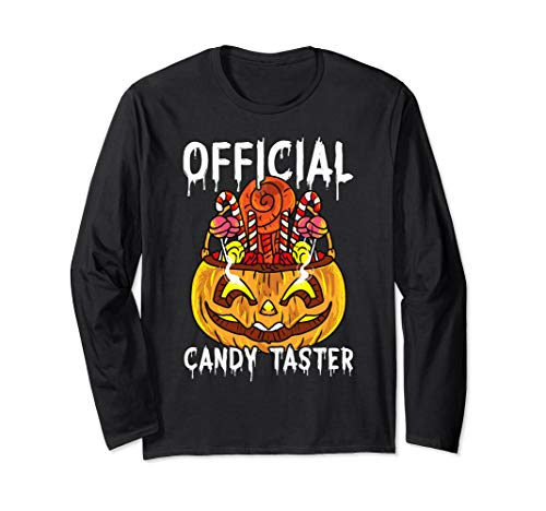 Nerds Candy Halloween Costumes (Official Candy Taster Spooky Halloween Costume Long Sleeve)