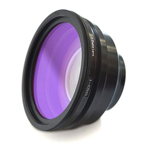 (405nm F-Theta Scan Lens Size 175175mm scews M85 use for 7d Printer Machine)
