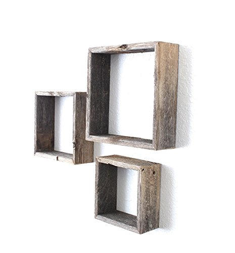 BarnwoodUSA Rustic Open Box Shelves product image