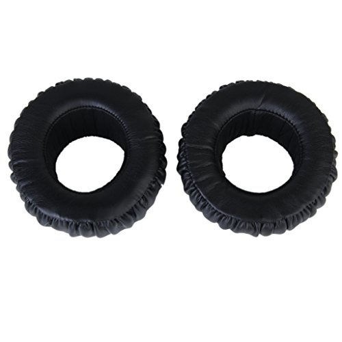 1 Pair Black Replacement Ear Cushion Pads Earpad For MDR-XB500 Headphone