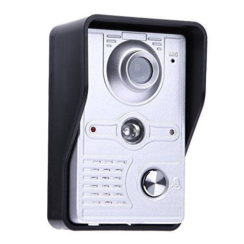 Doorbell, UEB Wired 7'' LCD Video Door Phone Doorbell Kit Home Intercom System by UEB (Image #4)