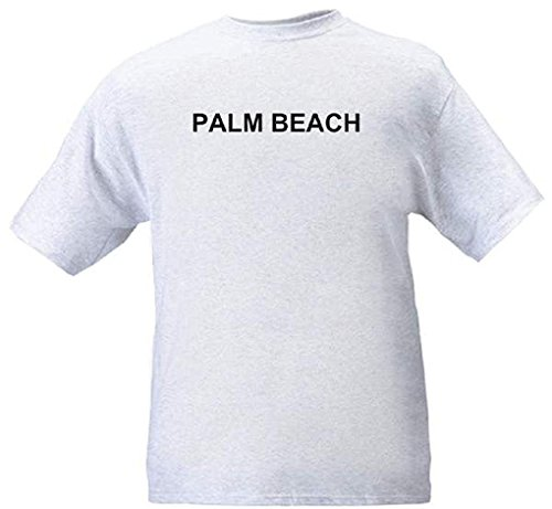 PALM BEACH - City-series - Heather grey T-shirt - size - Wellington Beach West Palm