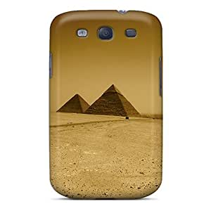 Slim Fit Tpu Protector Shock Absorbent Bumper Pyramid Case For Galaxy S3
