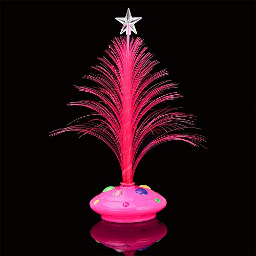 Home Decor,Pandaie Christmas Decorations Clearance Merry LED Color Changing Mini Christmas Xmas Tree Home Table Party Decor Charm