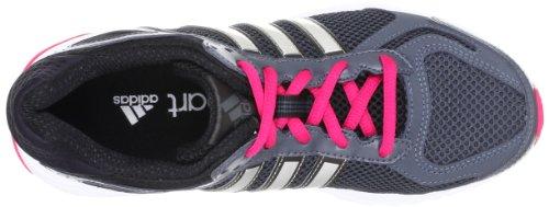 adidas Performance Duramo 5 - Zapatillas de correr de material sintético mujer gris - Grau (DARK ONIX / METALLIC SILVER / BLAZE PINK S13)