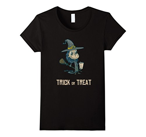 Womens Cute Witch - Halloween Costume Idea for Kids and Girls Small (Cute Female Halloween Costume Ideas)