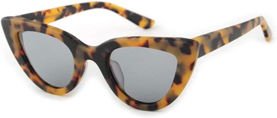 DAIYSNAFDN Cat Eye Sunglasses Women Occhiali da Sole in Legno di bambù Fatti a Mano Alta qualità NO1