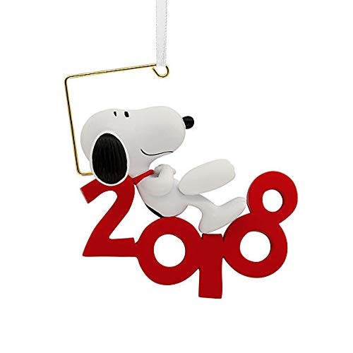 HMC Peanuts by Schulz Snoopy 2018 Christmas Ornament, Hallmark