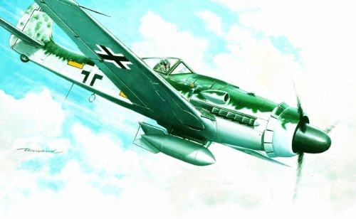 Italeri - I1128 - Maquette - Aviation - Focke Wulf FW190 D-9 - Echelle 1:72