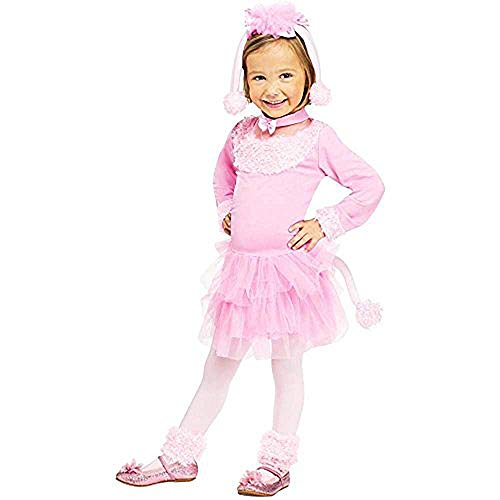 Toddler Poodle Costume (Pretty Poodle Toddler Costume (X-Large)