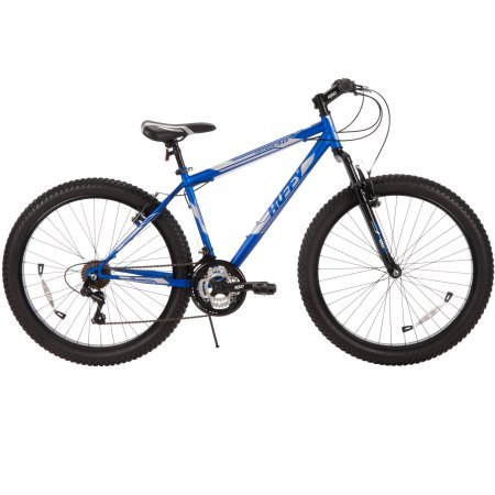 26'' Huffy Men's Fortress 3.0 Mid-Fat Plus Tire Mountain Bike, Blue by Huffy