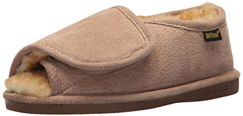 Old Friend Women's Step-In Moccasin, Chestnut, Large/8-9 M US