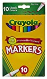 Crayola Super Tips Markers, Washable Markers, 10Count: more info