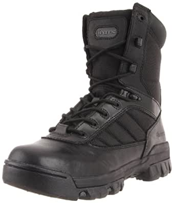 Bates Women's Ultra-Lites 8 Inches Tactical Sport Side Zip Boot,Black,5 M US