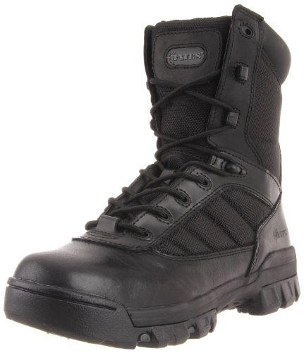 Bates Women's Ultra-Lites 8 Inches Tactical Sport Side Zip Boot,Black,9 M US ()