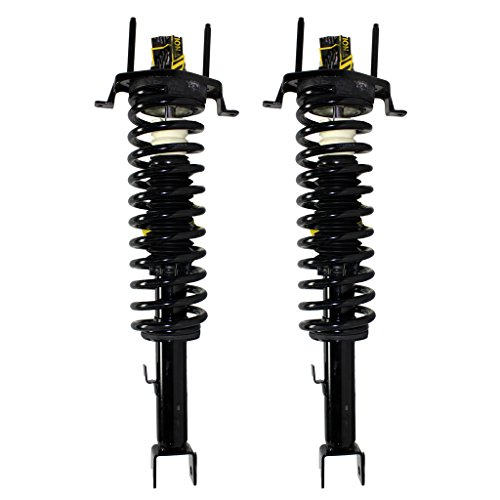 Detroit Axle - Both (2) New Rear Left & Right Side Complete Strut & Spring Assembly 2001-2006 Chrysler Sebring (Chrysler Sebring Convertible Auto)