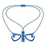 Feicuan Bluetooth Wireless Headphone In Ear Earbud Sport Earphone for Smartphone -Blue