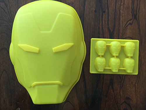 Avengers Candy Molds Avenging Heroes Face Chocolate Candy Lollipop