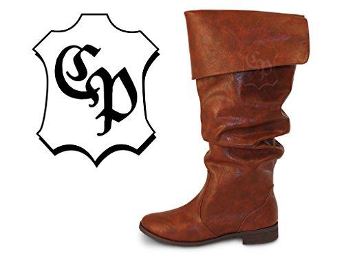 Piratenstiefel bottes de chevalier médiéval moyenâgeuse mousquetaire costume de pirate