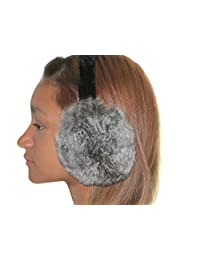 FursNewYork Second Best Natural Chinchilla Ear Muffs