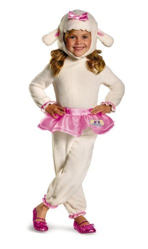 Disney Doc Mcstuffins Lambie Classic Toddler Costume, Large/4-6x (Adult Doc Mcstuffins Costumes)