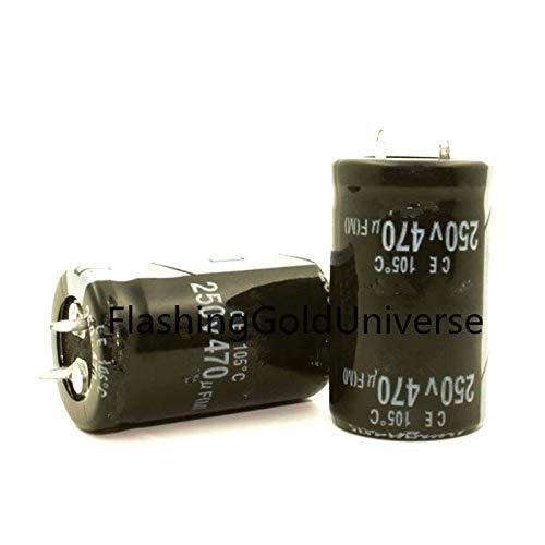 250V 470UF 470UF 250V Electrolytic Capacitor Volume 22X40