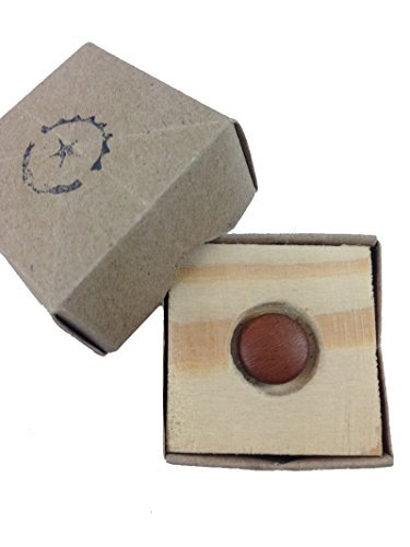 Thai Magic Wood Compatible 12mm Iron Wood Soft Release Shutter Button Camera Shutter Release Replacement for Fujifilm X100, Leica M3 M4 M5 M6 M7 M8