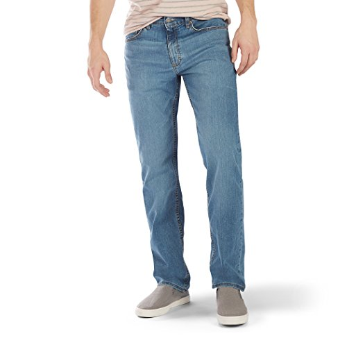 LEE Men's Premium Flex Denim Classic Fit, Rascal, 36W x 30L