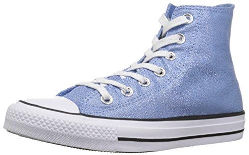 Star Donna black Chuck Taylor Converse Blue Luminoso Alto All Con Inserto Collo A Light white 5Ct5xW6n