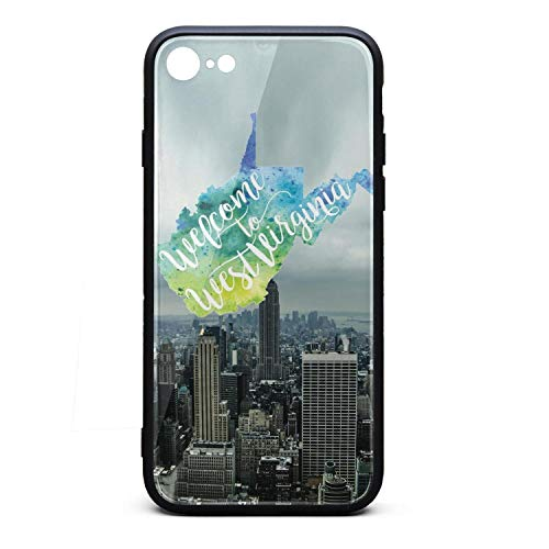 (Welcome to West Virginia Vector Watercolor Map iPhone 6 Case Retro IPhone6s Covers Custom Accessories Shock-Absorption iPhone 6/6s Cases )
